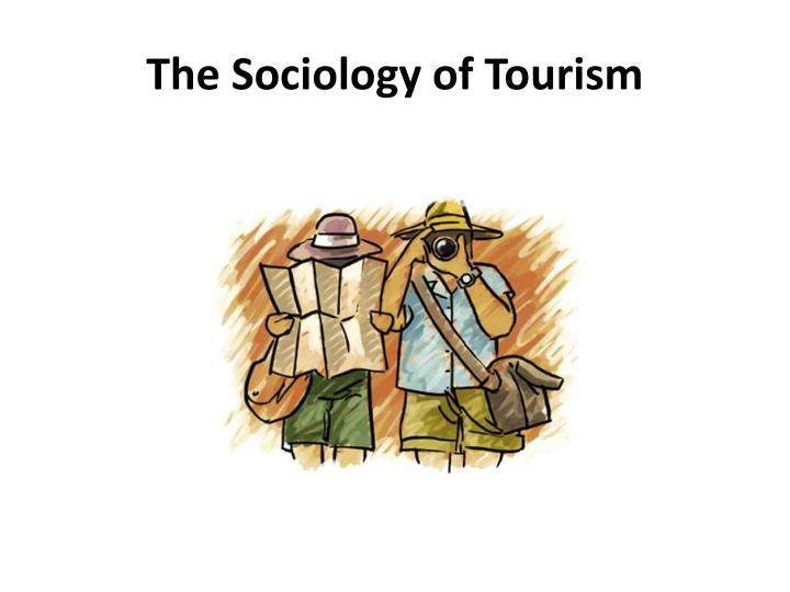 sociology of tourism