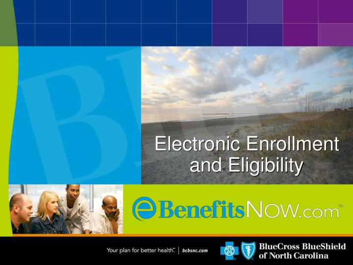 electronic enrollment and eligibility n.