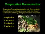 cooperative fermentation1