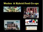 worker hybrid food co ops