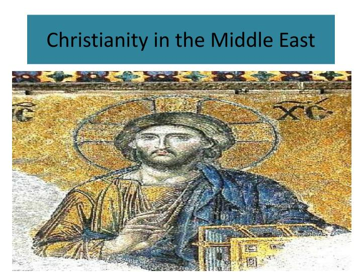 christianity in the middle east n.