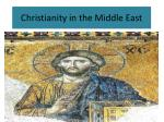christianity in the middle east