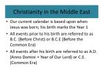 christianity in the middle east8