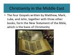 christianity in the middle east9