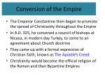 conversion of the empire2