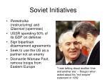 soviet initiatives