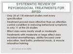 systematic review of psychosocial treatments for bpsd
