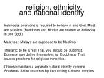 religion ethnicity and national identity