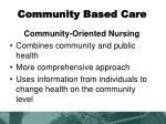 community based care4