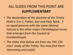 all slides from this point are supplementary