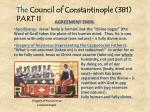 the council of constantinople 381 part ii