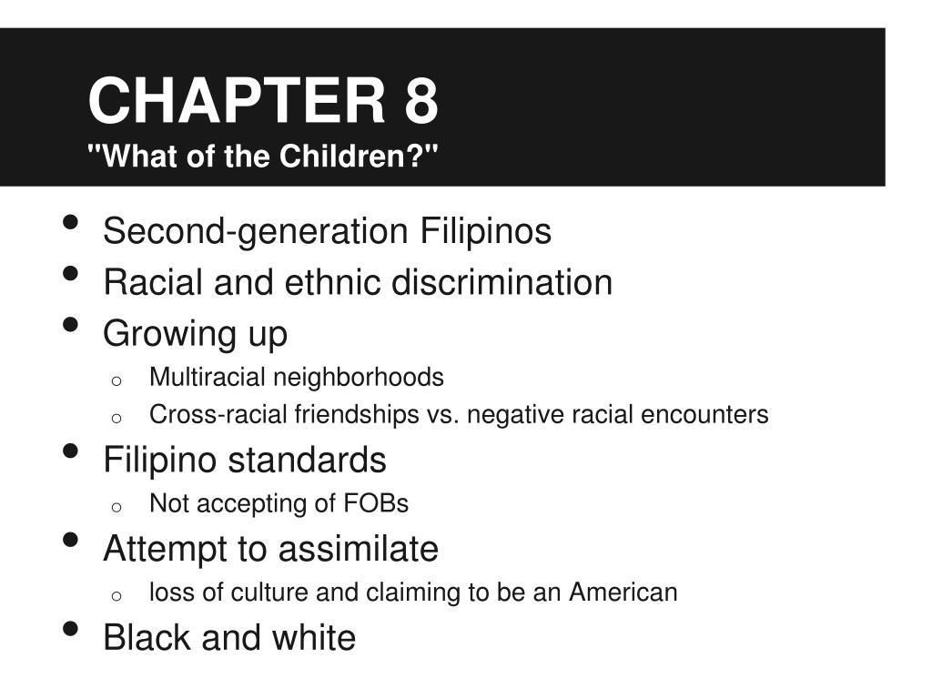 PPT - Homebound by Yen Espiritu Chapters 7-8 PowerPoint Presentation