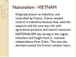 nationalism vietnam