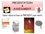 presentation assessment