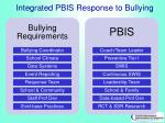 integrated pbis response to bullying
