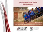an overview of south africa s schooling system