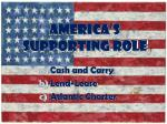 america s supporting role