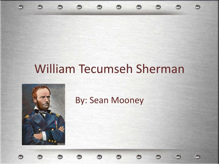 william tecumseh sherman n.