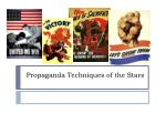 propaganda techniques of the stars