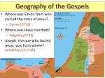 geography of the gospels11