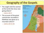 geography of the gospels12