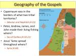 geography of the gospels2