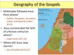 geography of the gospels3
