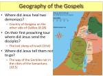 geography of the gospels4