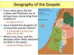 geography of the gospels6