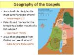 geography of the gospels7