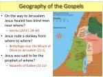 geography of the gospels8