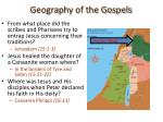 geography of the gospels22