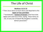 the life of christ21