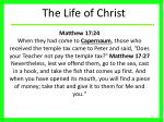 the life of christ24