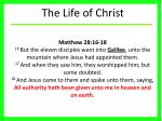 the life of christ36