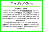 the life of christ8
