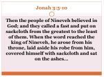 jonah 3 5 10