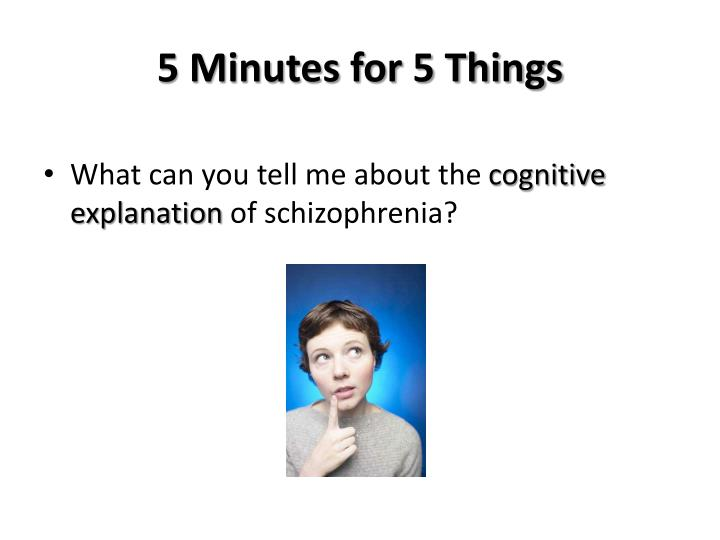 5 minutes for 5 things n.