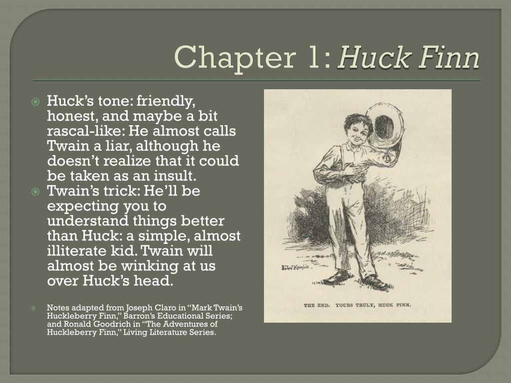 Ppt Adventures Of Huckleberry Finn Chapter Notes