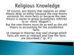 religious knowledge58