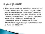 in your journal1