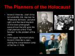 the planners of the holocaust