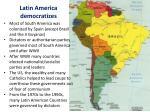 latin america democratizes