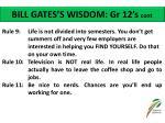 bill gates s wisdom gr 12 s cont1