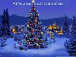 a you can trust christmas