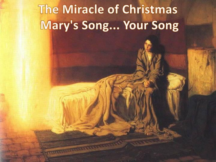 the miracle of christmas mary s song your song n.