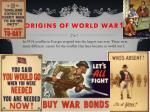origins of world war 1