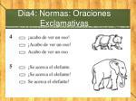 dia4 normas oraciones exclamativas