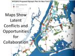 maps show latent conflicts and opportunities for collaboration