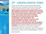 jii jakarta islamic index